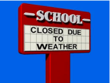 No school today, Monday April 8th.