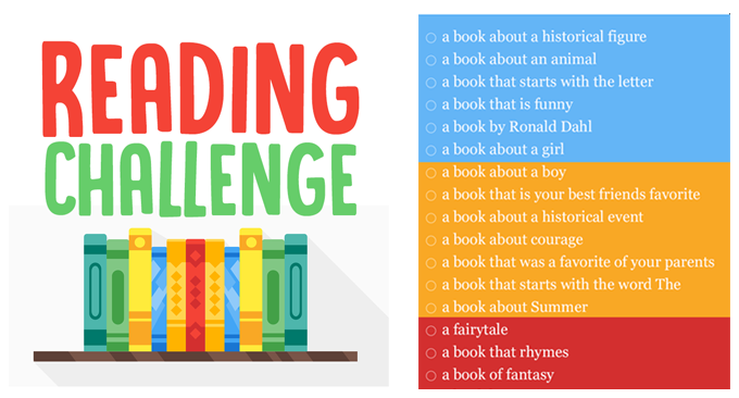 April Vacation Reading Challenge