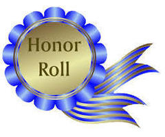 Congratulations to our Quarter 4 Honor Roll Students!