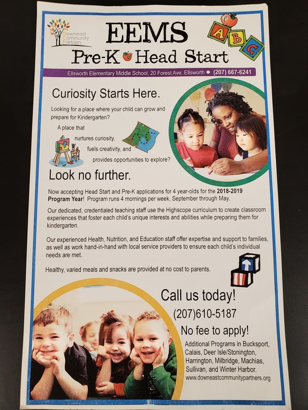 Pre-K/Head Start at EEMS